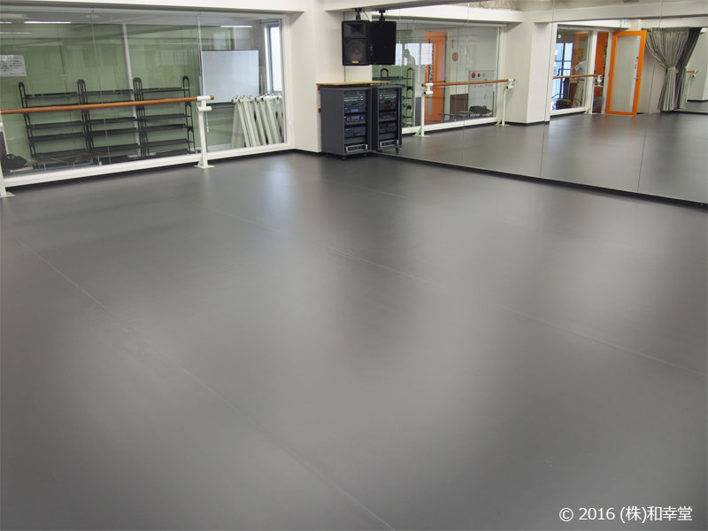 ダンススタジオ用床シート「TFリューム」