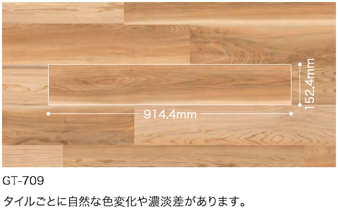 GT709サイズ