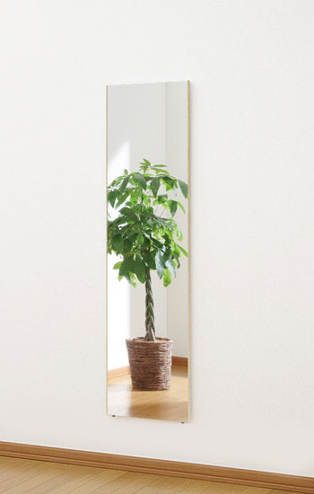リフェックスミラー|木目メープル柄