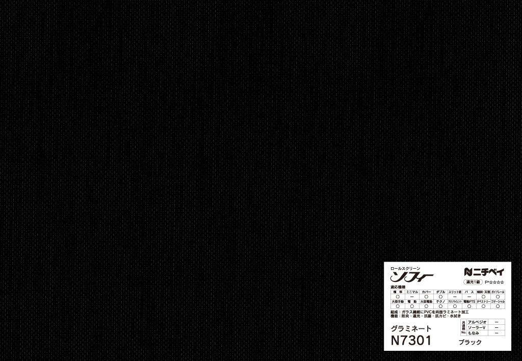N7301:ブラック