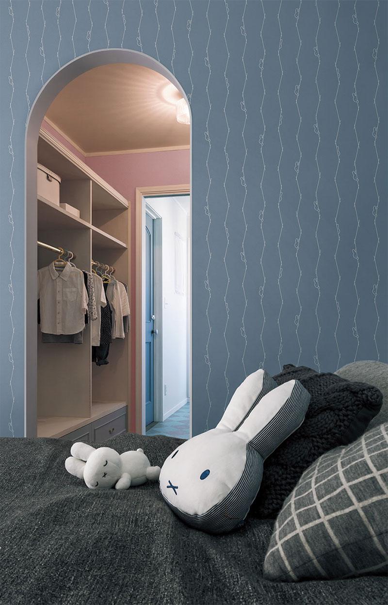 Lv1077 V Wall リリカラ 壁紙 ミッフィー 巾92 5cm 防かび